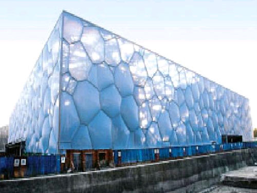 "The waterproof project of the National Swimming Center ""Water Cube"""