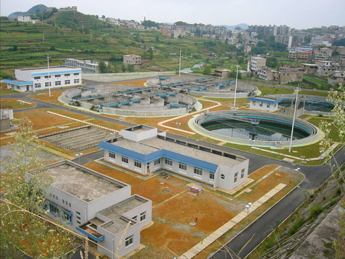 The waterproof, impervious and leakage plugging project of the sewage treatment plant in Qincheng District of Tianshui City
